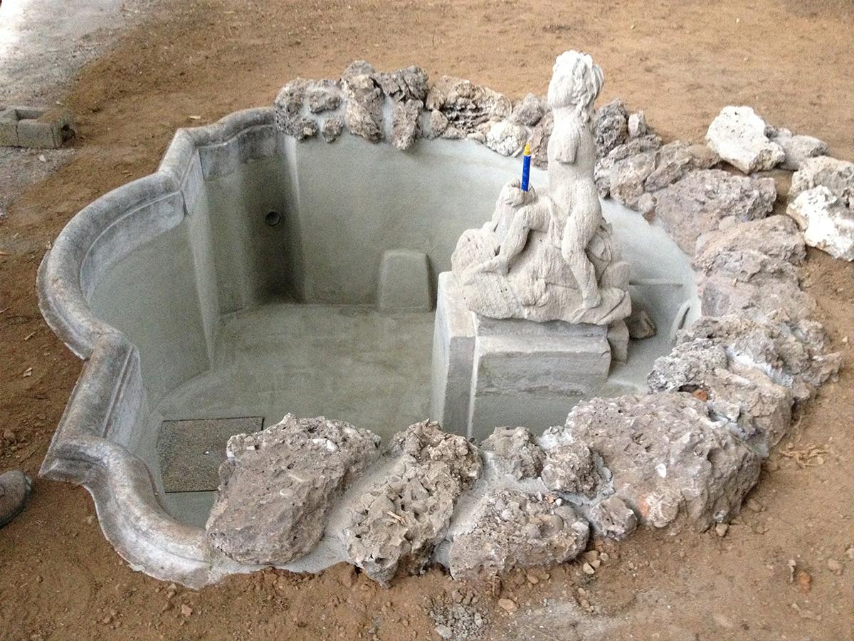 Csc ristrutturazoine fontana villa litta