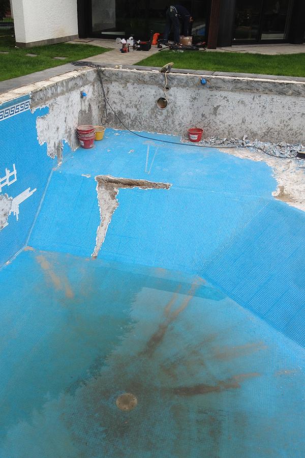 Csc ristrutturazione piscina prima