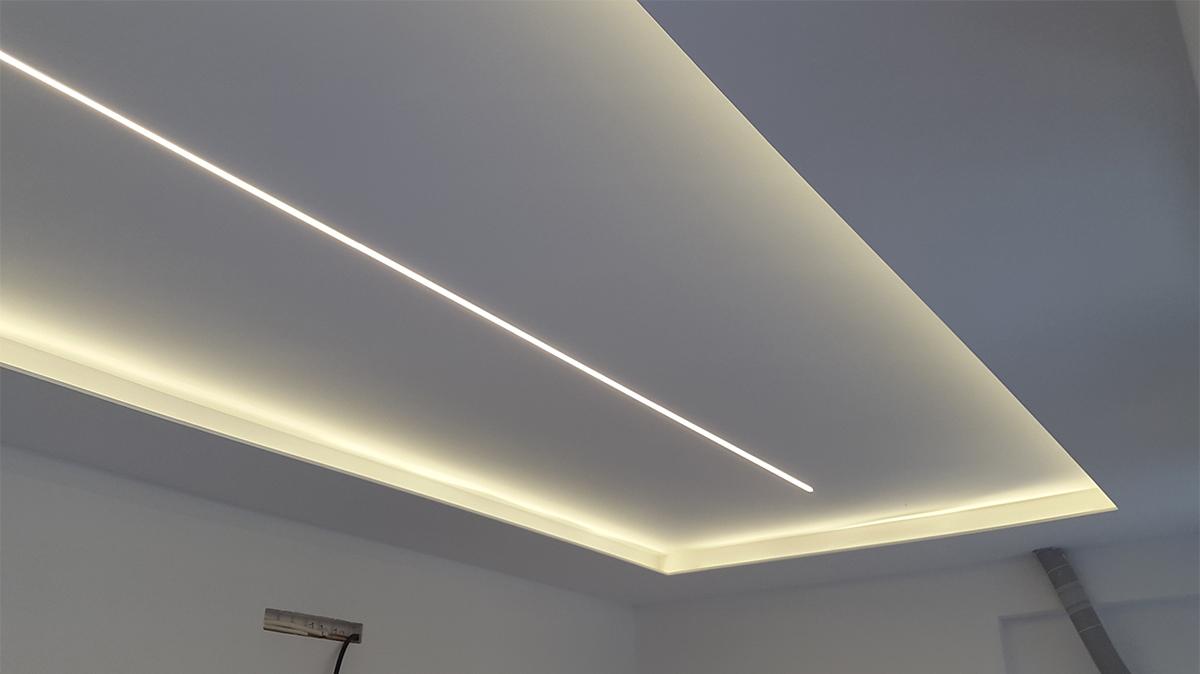 Csc abbassamento soffitto con LED